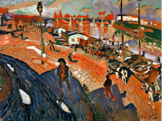 The Derain show at @CentrePompidou…